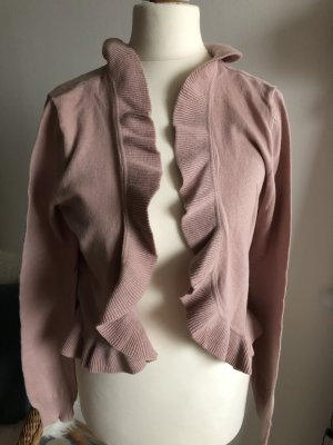 H&M Bollero 38 M neu Cardigan Strickjacke puderrosa rosa