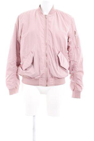 H&M Blouson aviateur vieux rose style décontracté