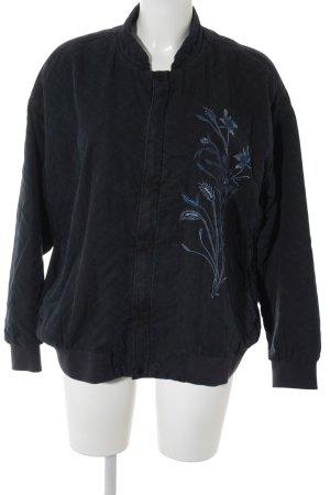 H&M Blouson aviateur motif floral style décontracté