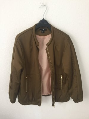 H&M Bomber Jacket green grey-olive green
