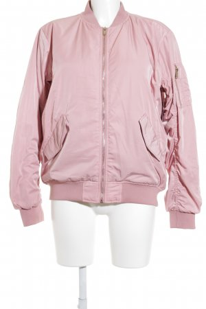 H&M Bomber Jacket pink casual look