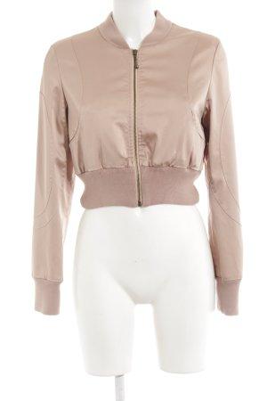 H&M Bomberjacke roségoldfarben Casual-Look