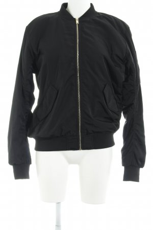 purchase cheap fbead 78c10 H&M Bomberjacke schwarz Casual-Look