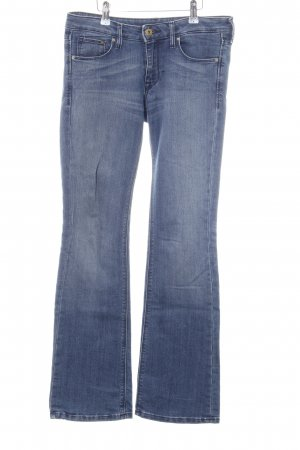 H&M Boot Cut Jeans blau Casual-Look