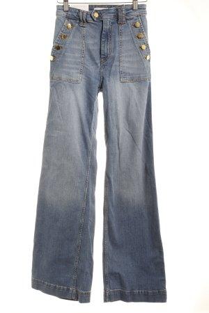 H&M Boot Cut Jeans hellblau Casual-Look