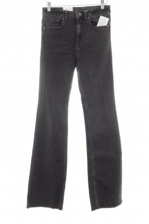 H&M Boot Cut Jeans taupe Casual-Look