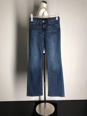H&M Boot Cut Jeans blue cotton