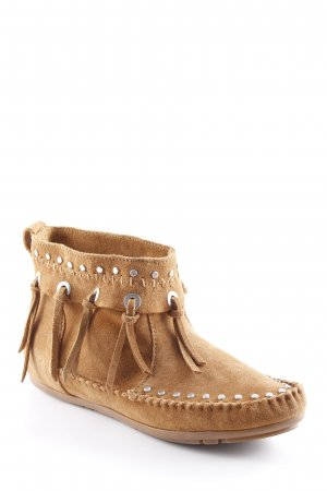 H&M Booties camel Casual-Look