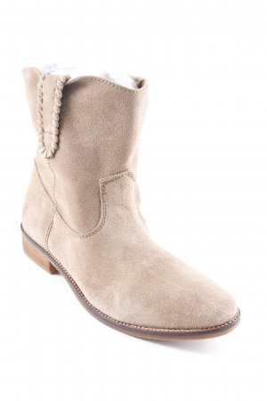 H&M Booties sandbraun Casual-Look