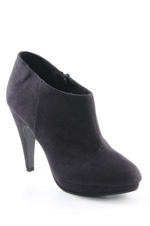 H&M Booties schwarz Elegant