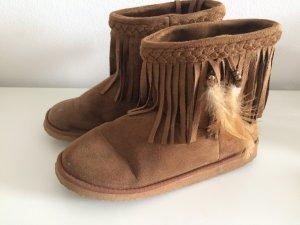 H&M Botas de nieve coñac