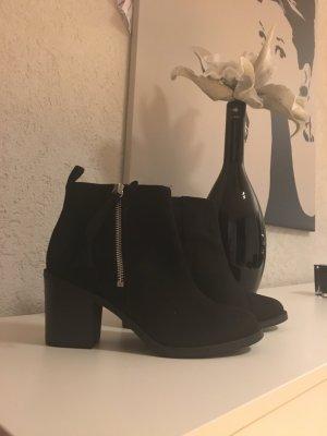 H&M Boots schwarz Größe 39