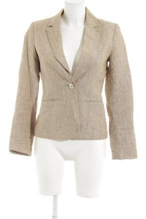 H&M Boyfriend-Blazer beige-hellbeige Business-Look
