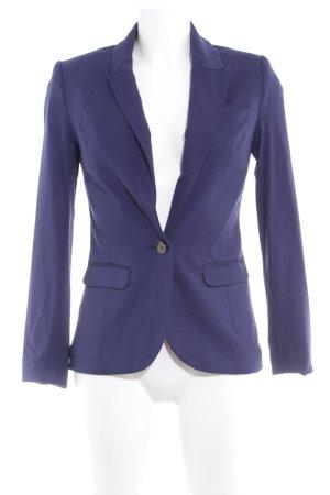 H&M Boyfriend Blazer blue business style
