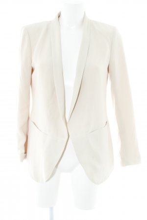 H&M Boyfriend-Blazer creme Business-Look