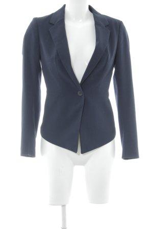 H&M Boyfriend-Blazer dunkelblau Business-Look