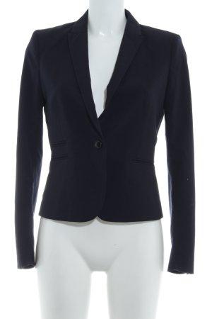 H&M Boyfriend blazer donkerblauw zakelijke stijl