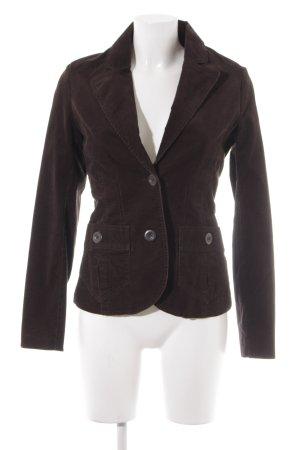 H&M Blazer stile Boyfriend marrone scuro Stile anni '90