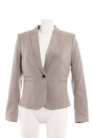 H&M Boyfriend-Blazer graubraun Business-Look