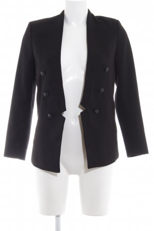 H&M Boyfriend Blazer black business style