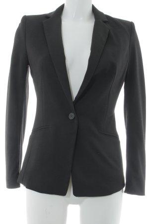 H&M Boyfriend-Blazer schwarz Elegant