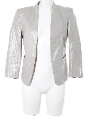 H&M Boyfriend Blazer silver-colored elegant