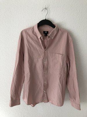 H&M Oversized Blouse light pink-pink