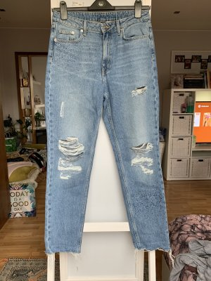 H&M Boyfriend Jeans multicolored