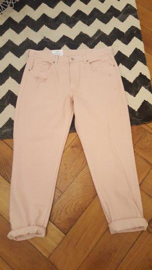 H&M Jeans boyfriend multicolore Cotone