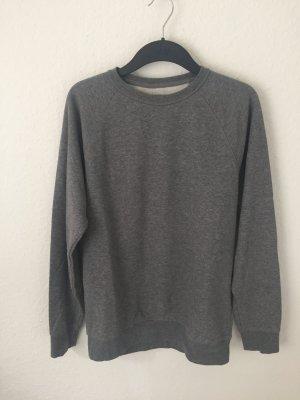 H&M Boyfriend Sweatshirt Grau