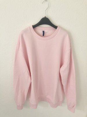 H&M Boyfriend Sweatshirt Pink