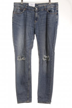 H&M Boyfriend Trousers blue casual look