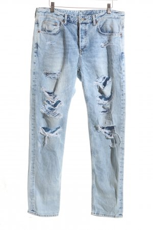 H&M Boyfriend Jeans blue casual look