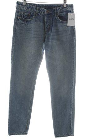 H&M Jeans boyfriend azzurro look pulito