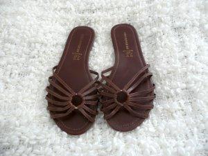H&M braune Sandalen Flipflops