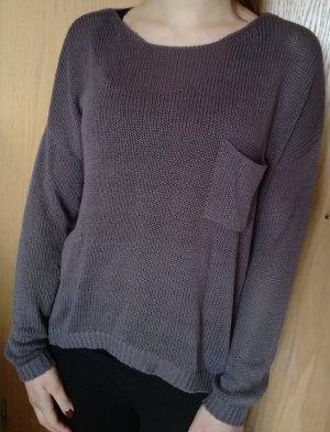 H&M Brauner Pullover Gr. S