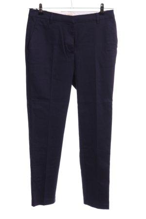 H&M Bundfaltenhose blau Business-Look