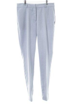 H&M Bandplooibroek blauw zakelijke stijl