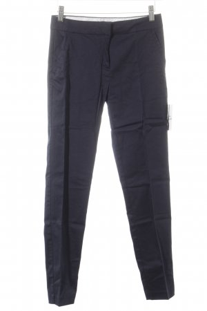 H&M Bundfaltenhose blau Elegant