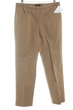 H&M Bundfaltenhose camel Business-Look