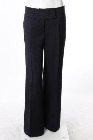 H&M Bundfaltenhose dunkelblau