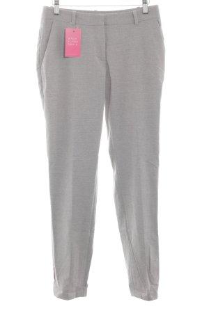 H&M Pantalone a pieghe grigio chiaro stile professionale