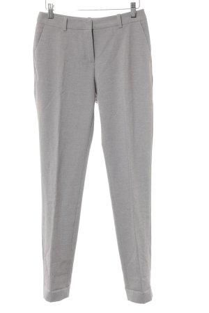 H&M Pantalon à pinces gris clair moucheté style d'affaires