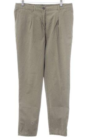 H&M Pantalon à pinces vert olive style décontracté
