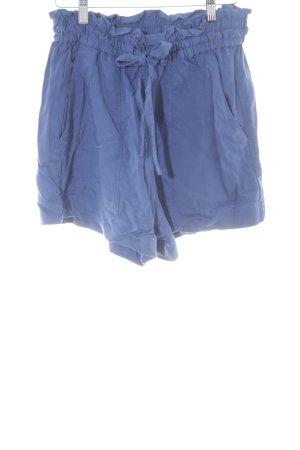 H&M Pantalon à pinces bleu acier-bleu style simple
