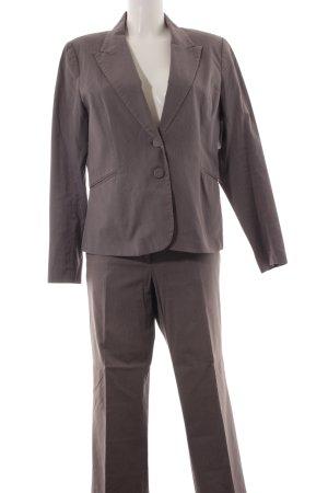 H&M Business-Anzug grau-weiß Nadelstreifen Business-Look