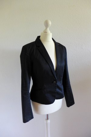 H&M Business Blazer Jacke Jacket Sakko schwarz Gr. 36