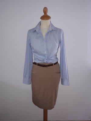 H&M Business Bluse XS blau gestreift hellblau blau weiß wie neu