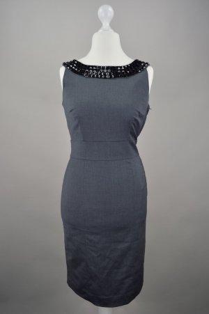 H&M Businesskleid Etuikleid neu mit Etikett grau Größe 38