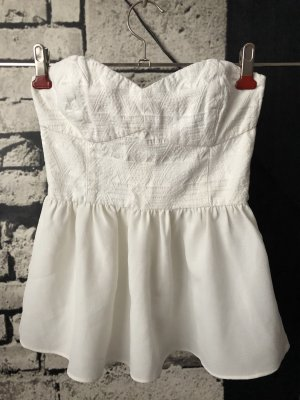 H&M Bustier Top natural white